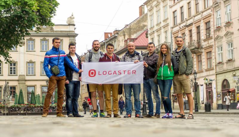 logasterチーム写真